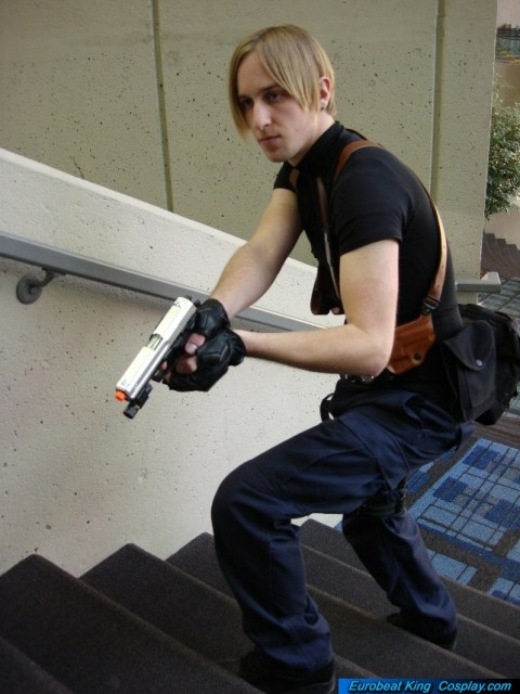 Leon Kennedy Resident Evil 4 By Forcebewitya Acparadise Com