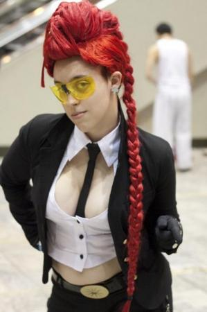 Crimson Viper from Street Fighter IV