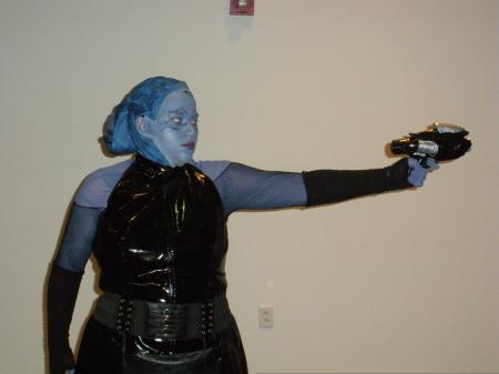 Asari Commando from Mass Effect worn by Shyala