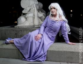 Amalthea from Last Unicorn worn by Seifer-sama