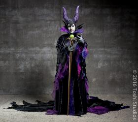Maleficent from Sleeping Beauty worn by Seifer-sama