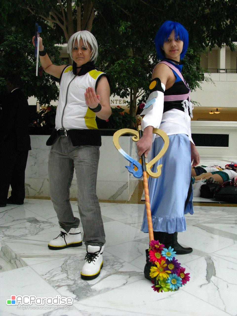 Riku Kingdom Hearts Cosplay