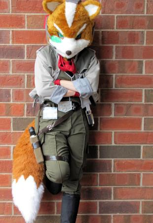 Fox McCloud from Super Smash Bros. Brawl