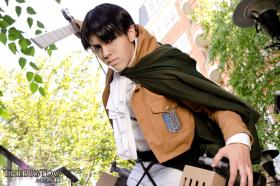 Levi from Attack on Titan worn by ZiPPY
