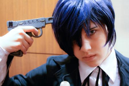 Main Character from Persona 3 worn by ZiPPY