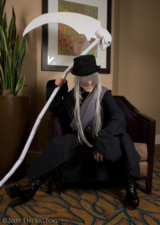 Undertaker from Black Butler worn by ZiPPY