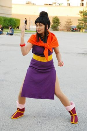 Chichi from Dragonball Z worn by Glay