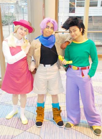 Goten from Dragonball GT worn by Glay