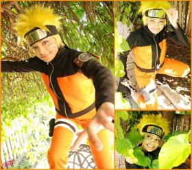 Naruto Uzumaki from Naruto Shippūden worn by Glay