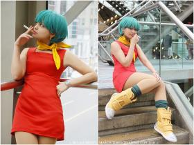 Bulma Briefs from Dragonball Z worn by Glay