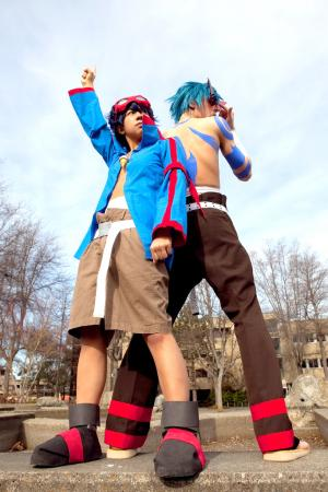 Simon from Tengen Toppa Gurren-Lagann worn by Airika