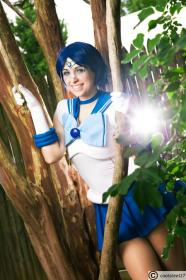 Sailor Mercury from Sailor Moon worn by ValNika
