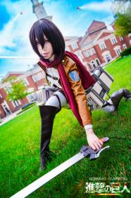 Mikasa Ackerman from Attack on Titan worn by Luvnatsu