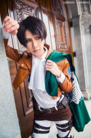 Levi from Attack on Titan worn by Luvnatsu