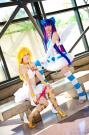 Stocking from Panty and Stocking with Garterbelt worn by Luvnatsu