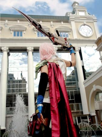 Lightning from Final Fantasy XIII worn by epi
