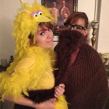 Mr. Snuffleupagus from Sesame Street worn by Phavorianne