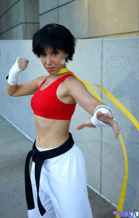 Makoto from Street Fighter IV worn by Phavorianne