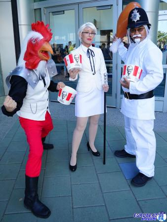 Colonel Sanders from KFC worn by Phavorianne