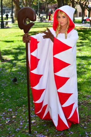 White Mage from Final Fantasy Tactics worn by Phavorianne