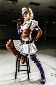 Harley Quinn from Batman: Arkham Asylum worn by Jobiberry
