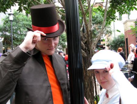 Luke from Professor Layton worn by hexterah