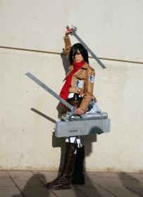 Mikasa Ackerman from Attack on Titan worn by Minoru
