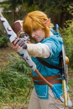 Link from Legend of Zelda: Breath of the Wild worn by Anijess3