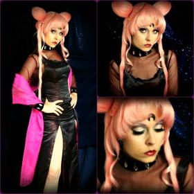 Black Lady from Sailor Moon R worn by Ammie