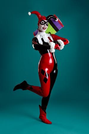 Harley Quinn from Batman: Arkham Knight worn by Ammie