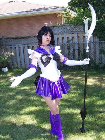 Sailor Saturn from Sailor Moon S