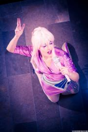 Jem from Jem and the Holograms worn by Ammie