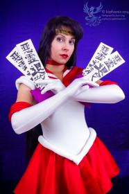 Sailor Mars from Sailor Moon worn by Ammie