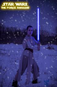 Rey from Star Wars Episode 7: The Force Awakens worn by Ammie