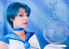 Sailor Mercury from Sailor Moon Crystal worn by Ammie
