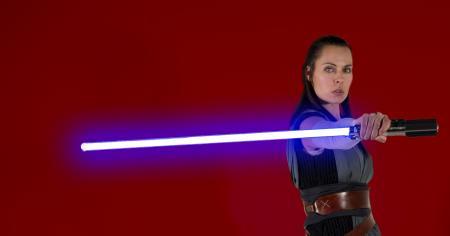 Rey from Star Wars Episode 8: The Last Jedi worn by Ammie