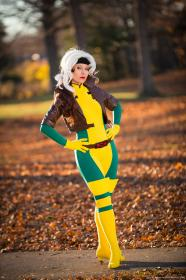 Rogue from X-Men worn by Ammie