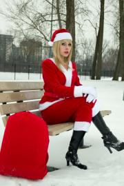 Mary Class / Claus from Santa Baby worn by Ammie
