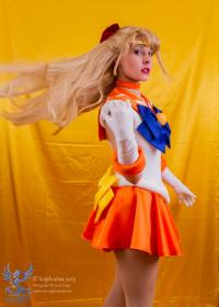 Sailor Venus from Sailor Moon worn by Ammie