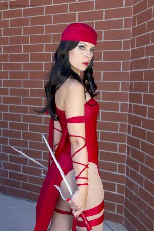 Elektra Natchios from Daredevil worn by Ammie