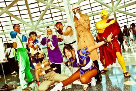 Ibuki from Street Fighter IV worn by Odoru Kakutouka