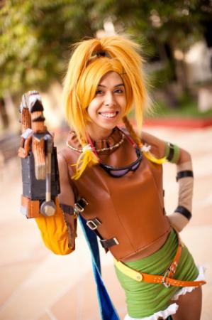 Rikku from Final Fantasy X worn by Odoru Kakutouka