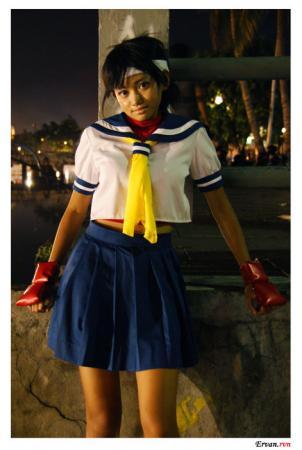 Sakura Kasugano from Street Fighter Alpha