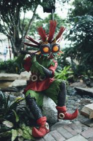 Skull Kid from Legend of Zelda: Majora's Mask worn by Shikarius