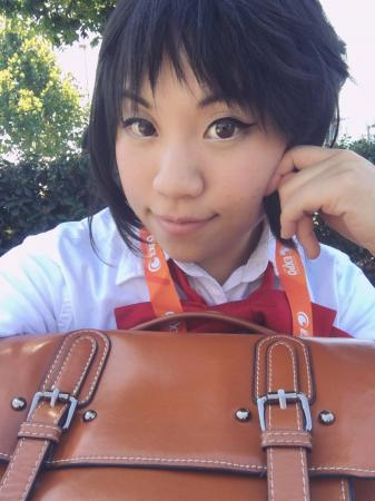 Mitsuha Miyamizu from your name. worn by Itsuka