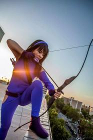 Hawkeye / Kate Bishop from Marvel Comics worn by Adora