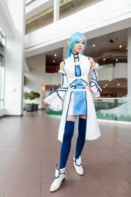 Asuna from Sword Art Online worn by Mei Hoshi