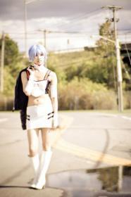 Rei Ayanami from Neon Genesis Evangelion worn by Mei Hoshi