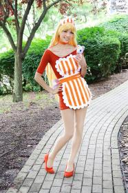 Minako Aino from Sailor Moon worn by Mei Hoshi
