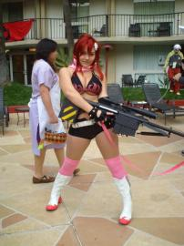 Yoko Littner from Tengen Toppa Gurren-Lagann worn by Sprocket